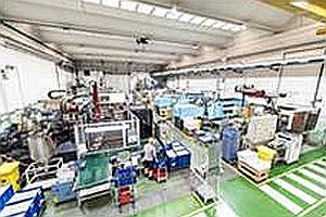 NIFCO Products España, interior de planta de Terrassa.