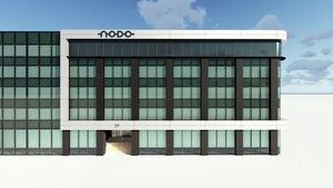 El edificio NODO finalizará por completo su renovación y reposicionamiento en el mercado en junio