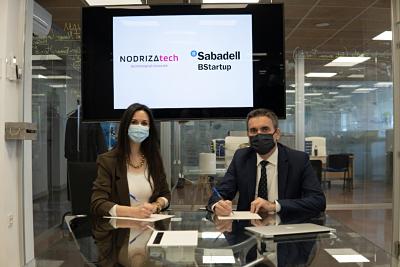 NODRIZA tech firma un acuerdo con BStartup de Banco Sabadell para impulsar el emprendimiento en Aragón