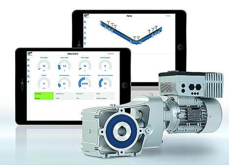 Supervisión del estado para el mantenimiento predictivo: el enfoque basado en el accionamiento de NORD DRIVESYSTEMS mejora significativamente la seguridad operativa y la eficiencia de las máquinas y las plantas. Ilustrado aquí mediante una aplicación logística.