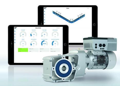 Supervisión del estado para mantenimiento predictivo: el enfoque basado en el accionamiento de NORD DRIVESYSTEMS mejora significativamente la seguridad operativa y la eficiencia de máquinas y plantas. Ilustrado aquí mediante una aplicación de logística.