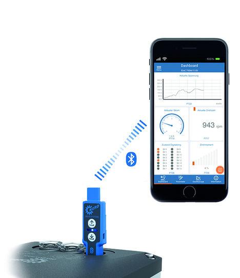 Servicio mediante aplicación (APP) para usar con móvil