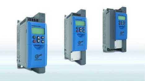 Los nuevos convertidores de frecuencia para armario de control de la familia NORDAC PRO proporcionan altos niveles de conectividad, funcionalidad y modularidad.
