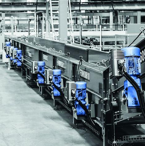 Las soluciones de logística interna de LogiDrive combinan eficiencia energética y la reducción de las variantes