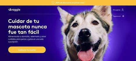 Nace WAGGLE, el primer servicio integral y personalizado con cuota fija para mascotas
