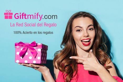 Nace la Red Social del Regalo Giftmify.com que permite acertar 100% con los regalos