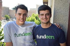 Nacho y Adrián Bautista, fundadores de Fundeen.