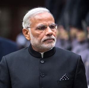 Narendra Modi, Primer Ministro de India.