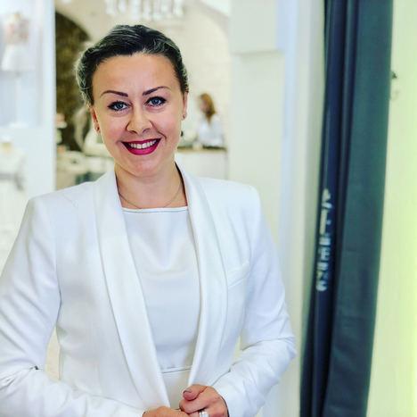 Natalia Havrutska, directora del centro Suite Experience de Altea.