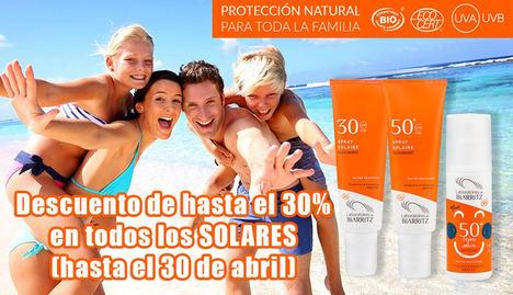 Natura Online lanza su oferta de cremas y bronceadores solares veraniegos, con descuentos de hasta el 30%