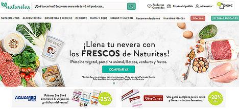 Naturitas se alía con Biospace para la venta de productos frescos BIO