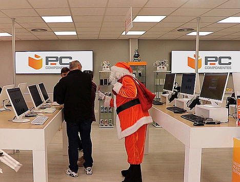 PcComponentes lanza miles de ofertas, sorpresas y cupones regalo durante su campaña de Navidad