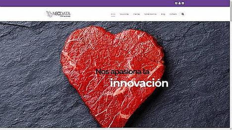 La nueva web de Neodata destaca por sus contenidos de gestión empresarial