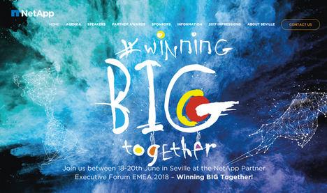 NetApp EMEA celebrará su Partner Executive Forum 2018 en Sevilla