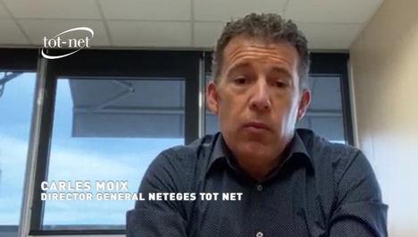 Carles Moix: Reconocimiento a los profesionales de limpieza de Neteges TOT NET