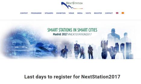 El Congreso NextStation 2017 convertirá a Madrid en el centro de la transformación digital del sector ferroviario internacional