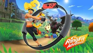Nintendo inventa el género de Fantasía Fitness con Ring Fit Adventure