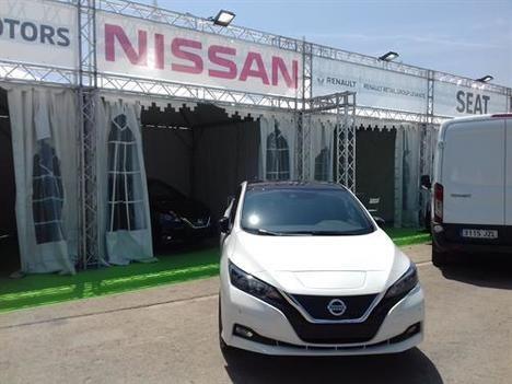 Nuevos Nissan Leaf y E-NV200