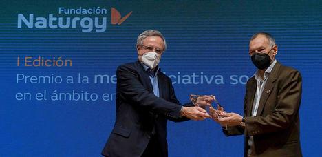 Ni un hogar sin energía recibe el Premio a la mejor iniciativa social en el ámbito energético de la Fundación Naturgy