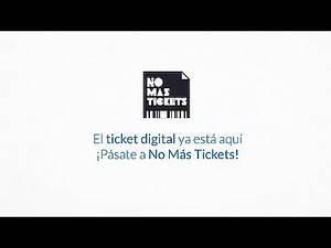No Más Tickets: el ticket de compra digital desde 2014