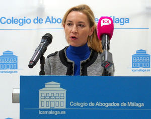 Noemí Alarcón Velasco, presidenta del Comité de Migraciones de la Abogacía Europea.