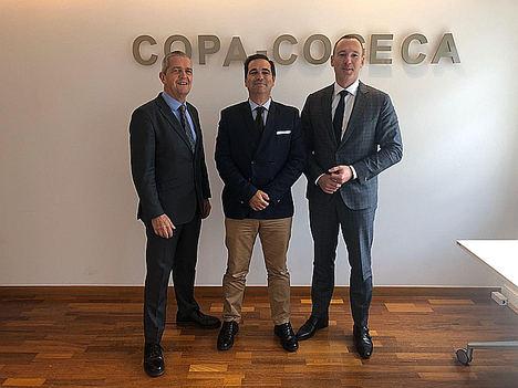 Pedro Gallardo, elegido presidente del grupo de trabajo de fitosanitarios del COPA-COGECA