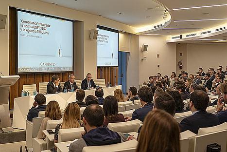 """Jesús Gascón, director general de la AEAT: """"Las empresas deberán ser más transparentes en sus estrategias tributarias tras la aprobación de la norma UNE 19602"""""""