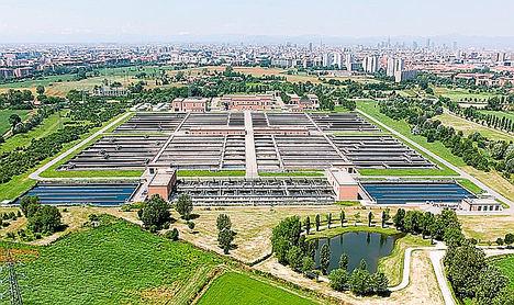 AQUAVISTA™ Plant, la solución digital de Veolia, elegida para la planta de aguas residuales de Nosedo, en Milán