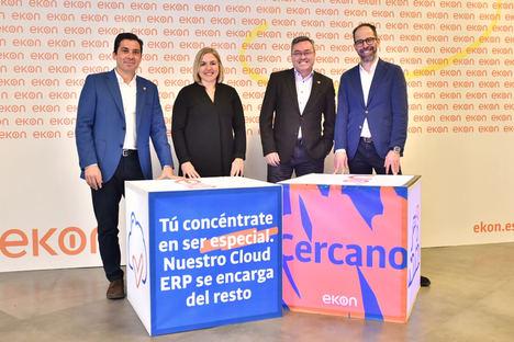 Ekon evoluciona para liderar el mercado de ERP y hacer más competitiva a la empresa española