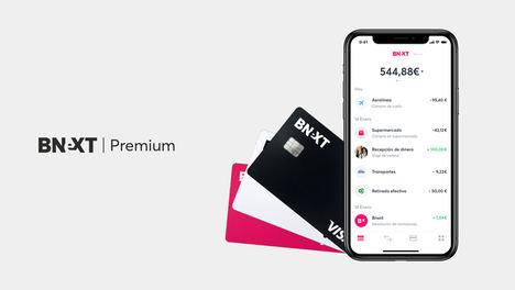Bnext lanza Bnext Premium: una nueva cuenta con más ventajas