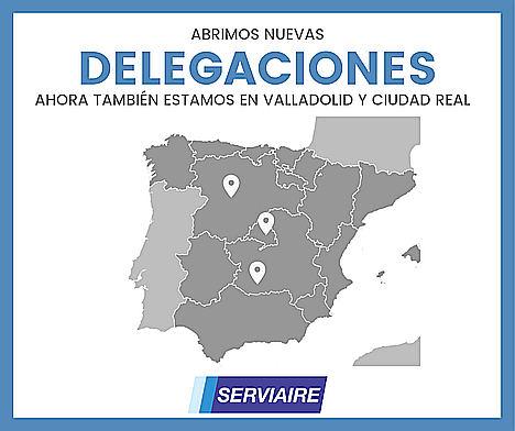 SERVIAIRE, empresa referente en soluciones globales en aire comprimido, abre nuevas delegaciones en España