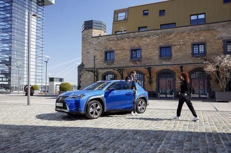 Nuevo Lexus UX 300e eléctrico