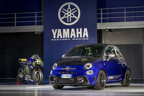 Nuevos Abarth 595 Scorpioneoro y 595 Monster Energy Yamaha