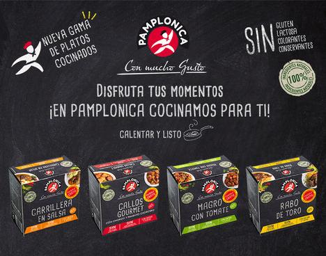Pamplonica lanza nueva gama de platos preparados caseros con ingredientes 100% naturales
