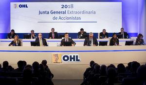 La Junta General Extraordinaria de Accionistas de OHL aprueba la venta de OHL Concesiones a IFM