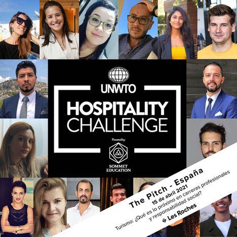 """Tres proyectos finalistas del certamen de la OMT y Sommet Education """"Hospitality Challenge"""" reciben una beca de formación en Les Roches"""