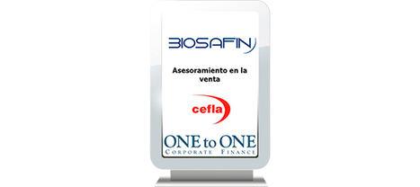 ONEtoONE asesora a la empresa italiana Biosafin Srl en su venta a CEFLA Società Cooperativa