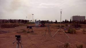 El ITC avanza en el estudio de las emisiones a la atmósfera causadas por la quema de biomasa agroresidual