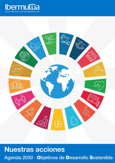 Ibermutua promueve entre sus empresas asociadas la campaña #apoyamoslosODS para difundir los 17 Objetivos de Desarrollo Sostenible