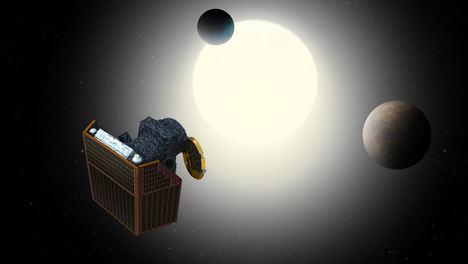 Observando transito de exoplanetas.