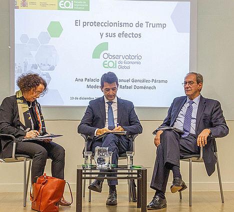 Ana Palacio y González-Páramo abogan por una Europa garante del libre comercio