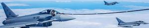 ENAIRE y el Ejército del Aire coordinan un ejercicio internacional de combate aéreo en el océano Atlántico