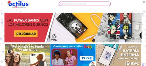 Octilus.com, la mayor tienda online de accesorios móviles, renueva su Web alcanzando los 500.000 pedidos