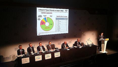 Japón, destino mejor preparado para situaciones de crisis en los premios de la 19º Cumbre Mundial WTTC de Sevilla