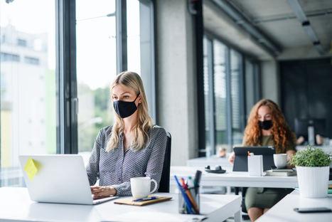Los españoles piden alternar la vuelta a la oficina con el teletrabajo, si se implantan medidas para evitar contagios
