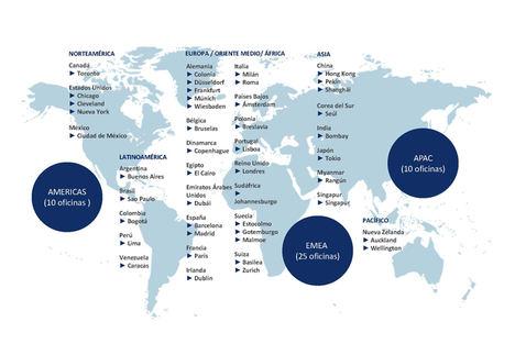 Signium refuerza su estrategia de expansión internacional con la apertura de oficinas en Seúl, Johannesburgo y México