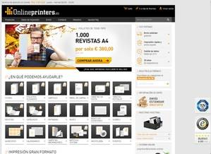 Web de onlineprinters.es.