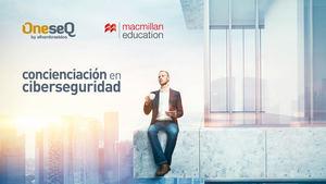 OneseQ colabora con Macmillan Education Iberia para dar un paso más en la concienciación sobre la ciberseguridad