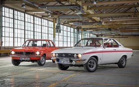Los Opel Ascona y Manta, cumplen 50 años