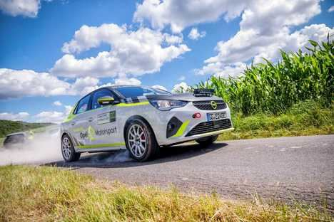 Opel Corsa-e Rally, la seguridad es lo primero